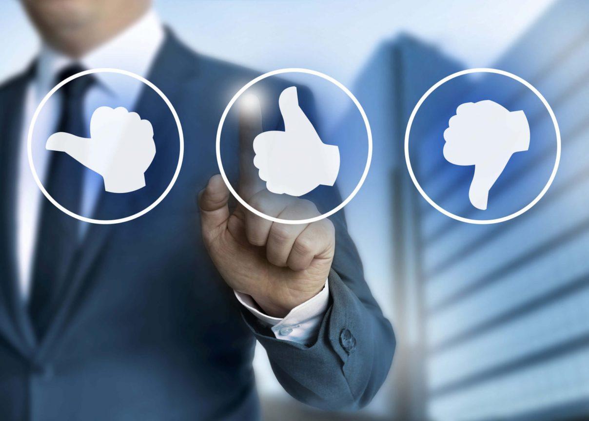 Como a avaliação de clientes auxilia no seu negócio
