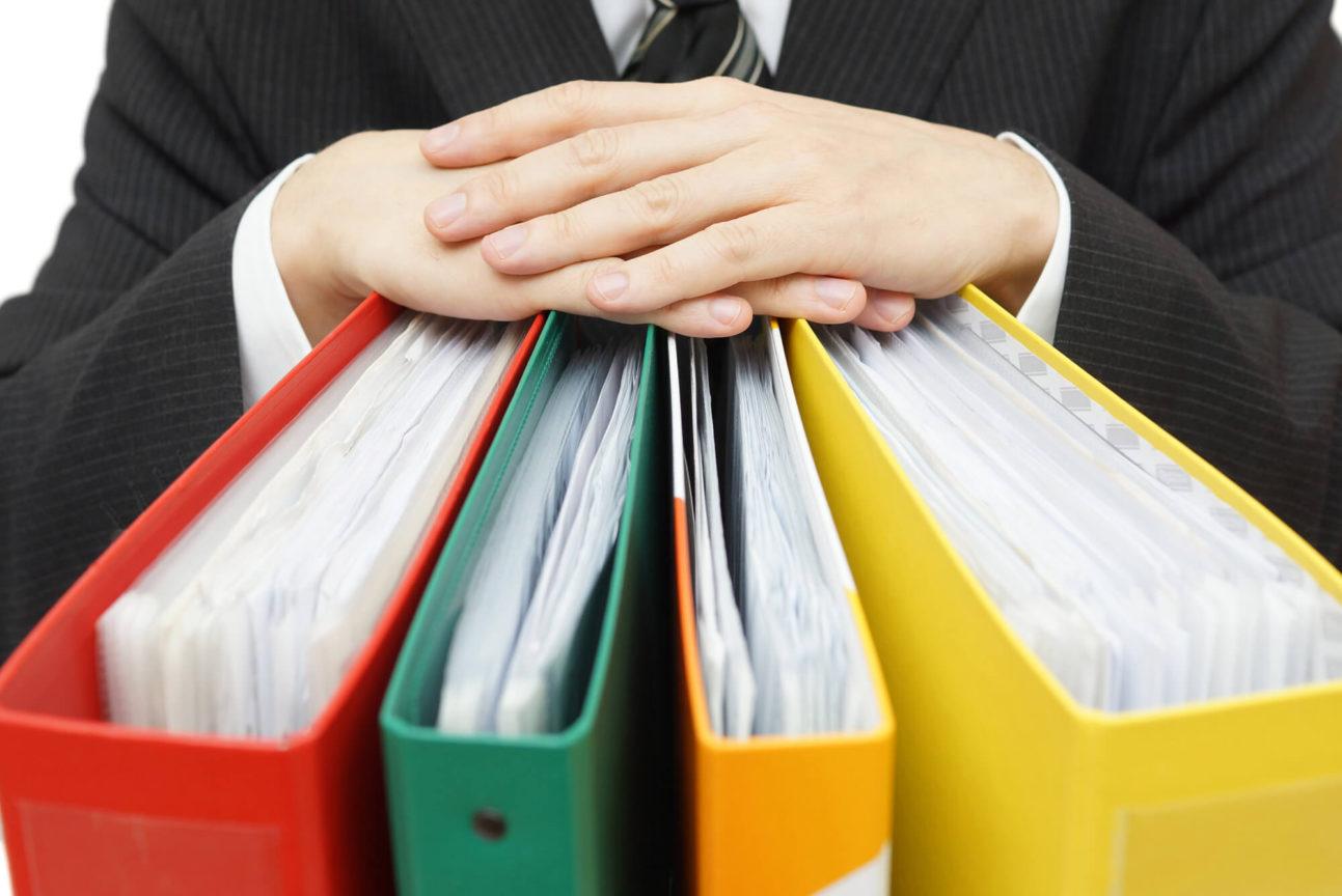 Armazenamento de documentos da minha empresa