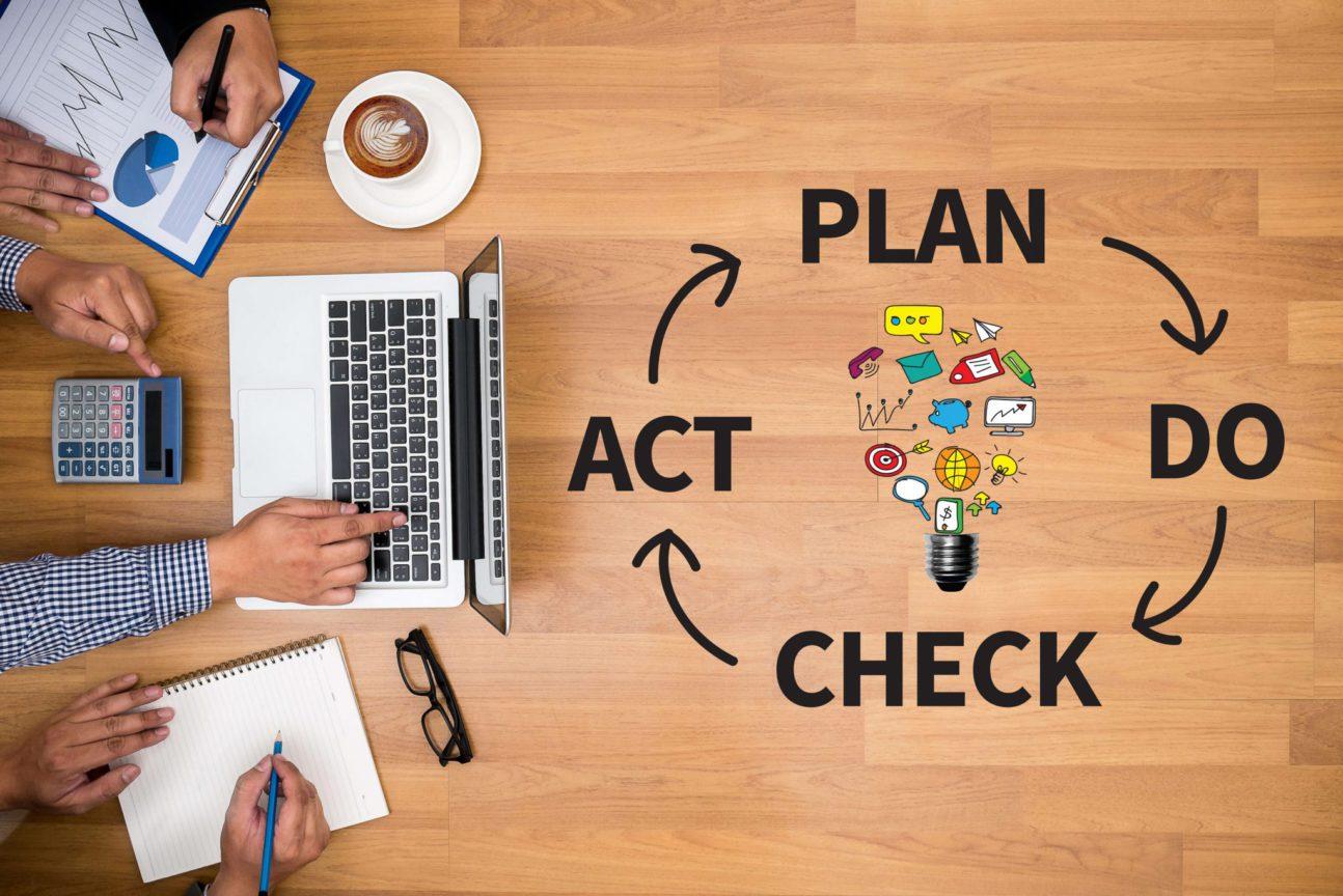 Aumente a qualidade em serviços com a ciclo PDCA