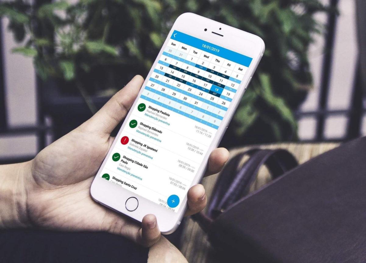 Controle externo: aplicativo para gestor de equipe