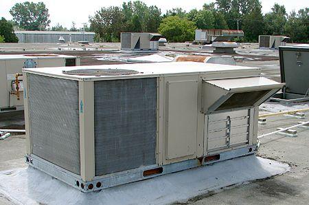 Para se ter uma ideia, essa é uma unidade de tratamento de ar do sistema de HVAC. Foto: reprodução/Wikipedia
