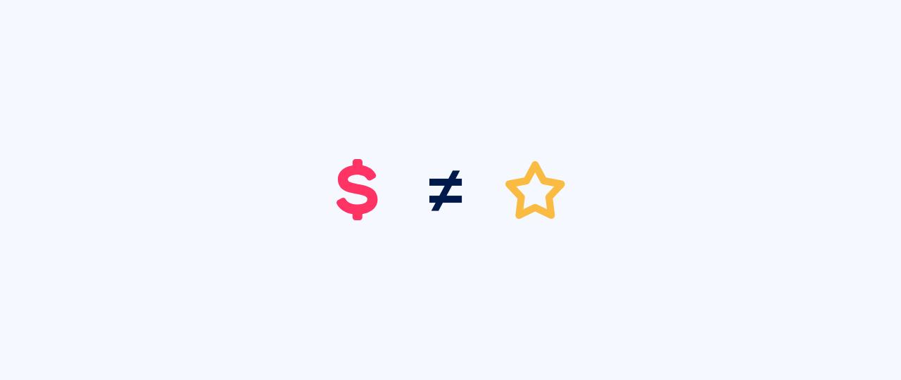 Diferença entre valor e preço na prestação de serviços